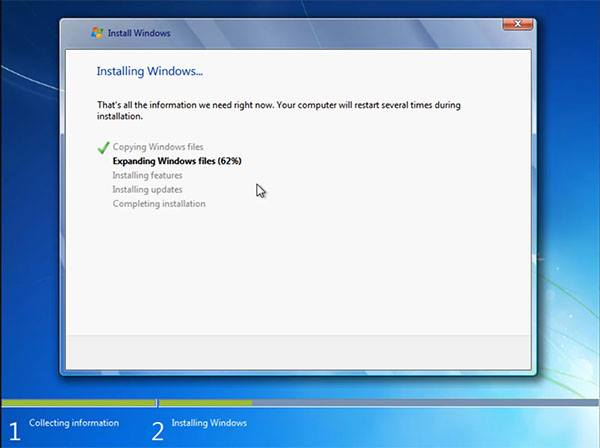 expaning win7