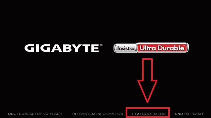gigabyte start