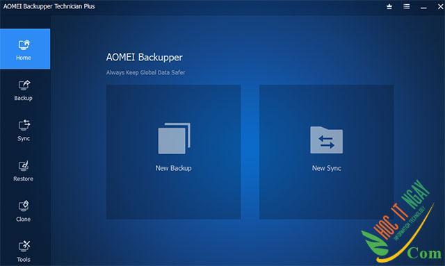 Tải AOMEI Backupper miễn phí