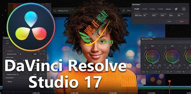 Tải DaVinci Resolve Studio 17 miễn phí
