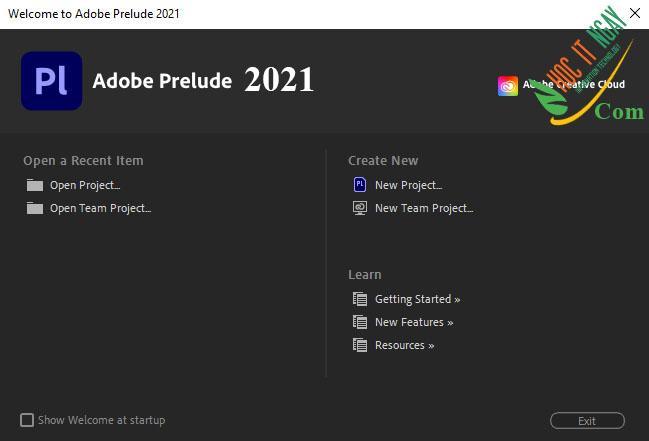 Tải Adobe Prelude 2021 miễn phí