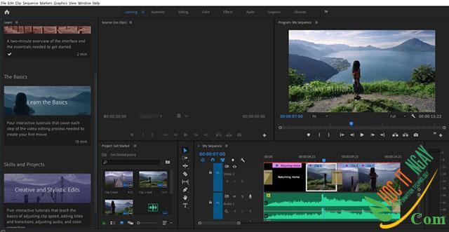 Tải Adobe Premiere Pro 2021 miễn phí