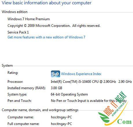 Tải Windows 7 SP1 miễn phí