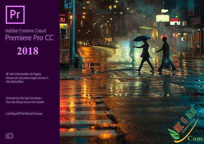 Tải Adobe Premiere Pro CC 2018 miễn phí